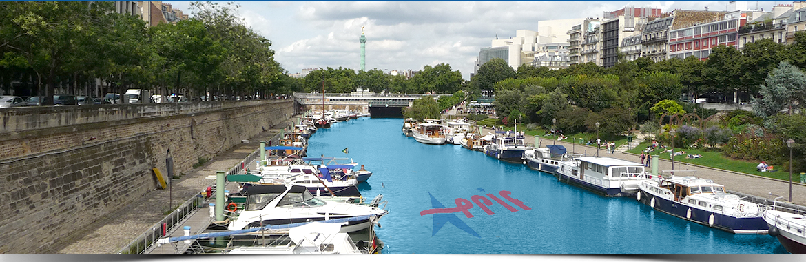 Port de Bastille à Paris